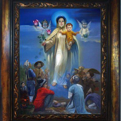 Tranh vẽ tích Đức Mẹ
